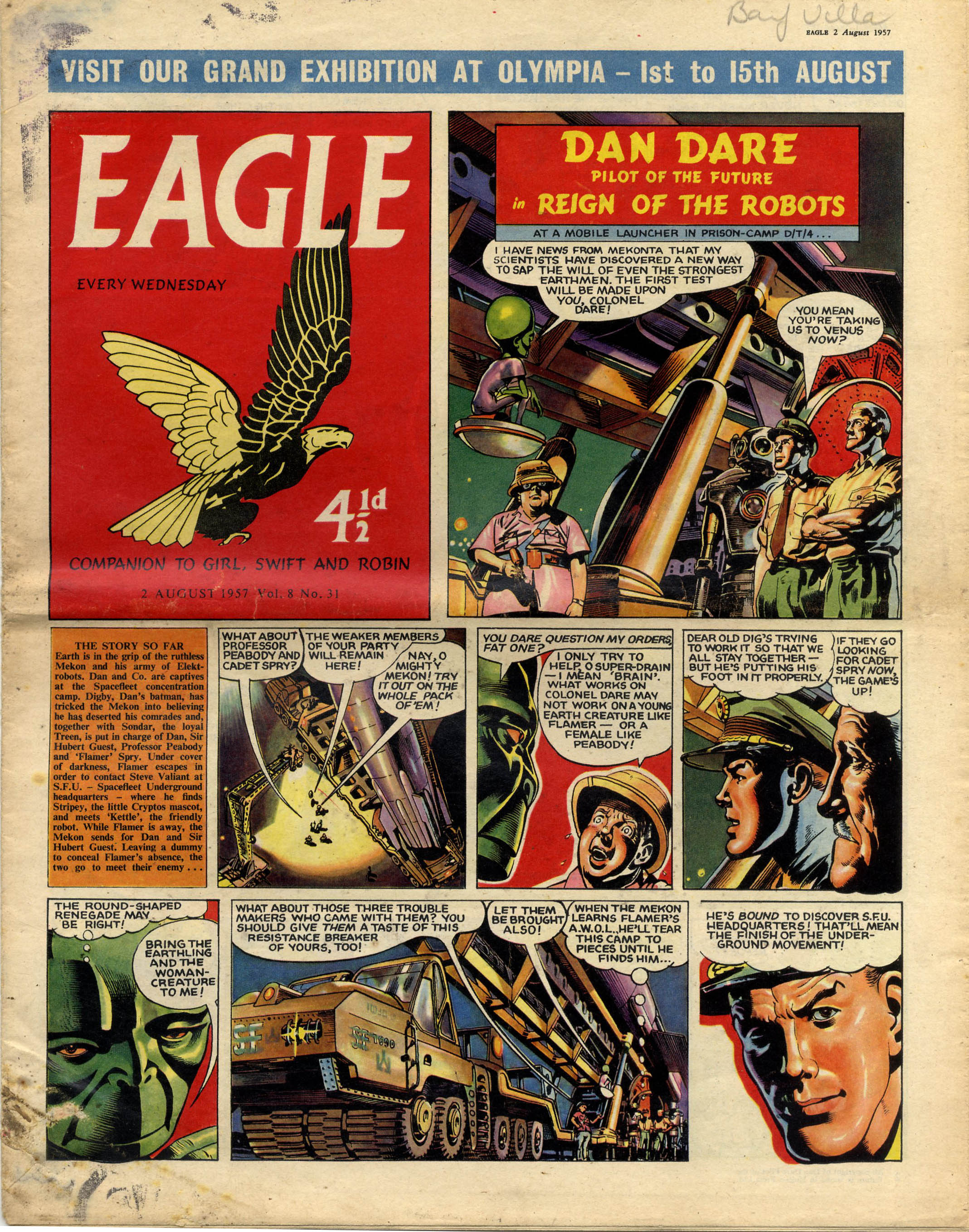 Comics Dan Dare