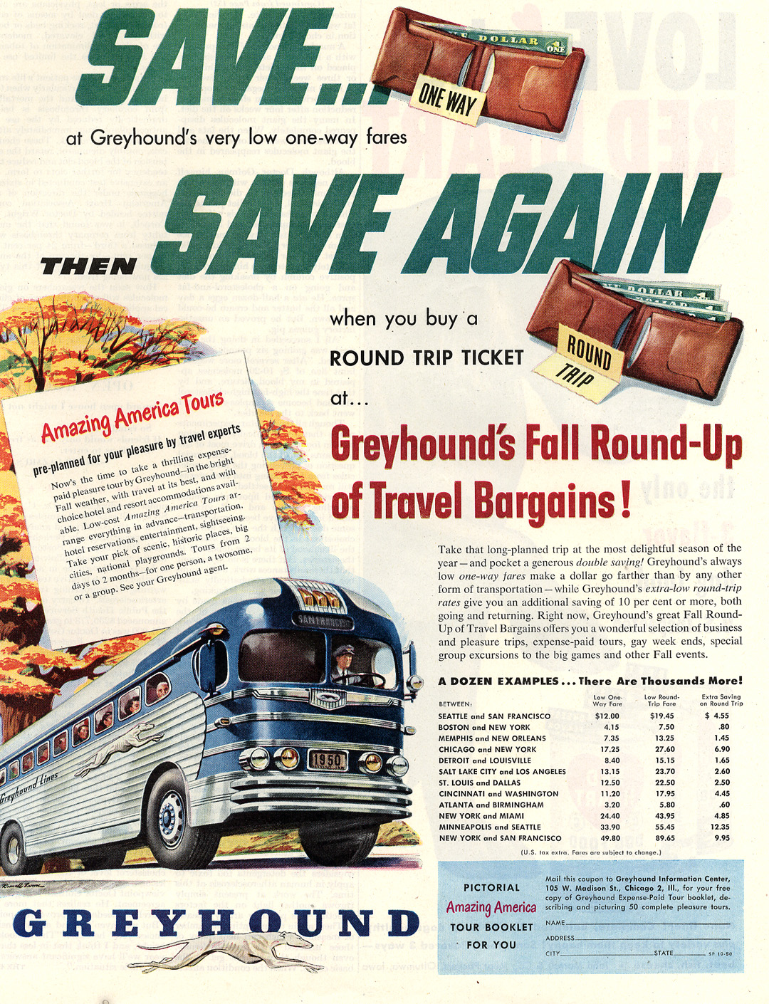 The World of the Car - the Greyhound Bus