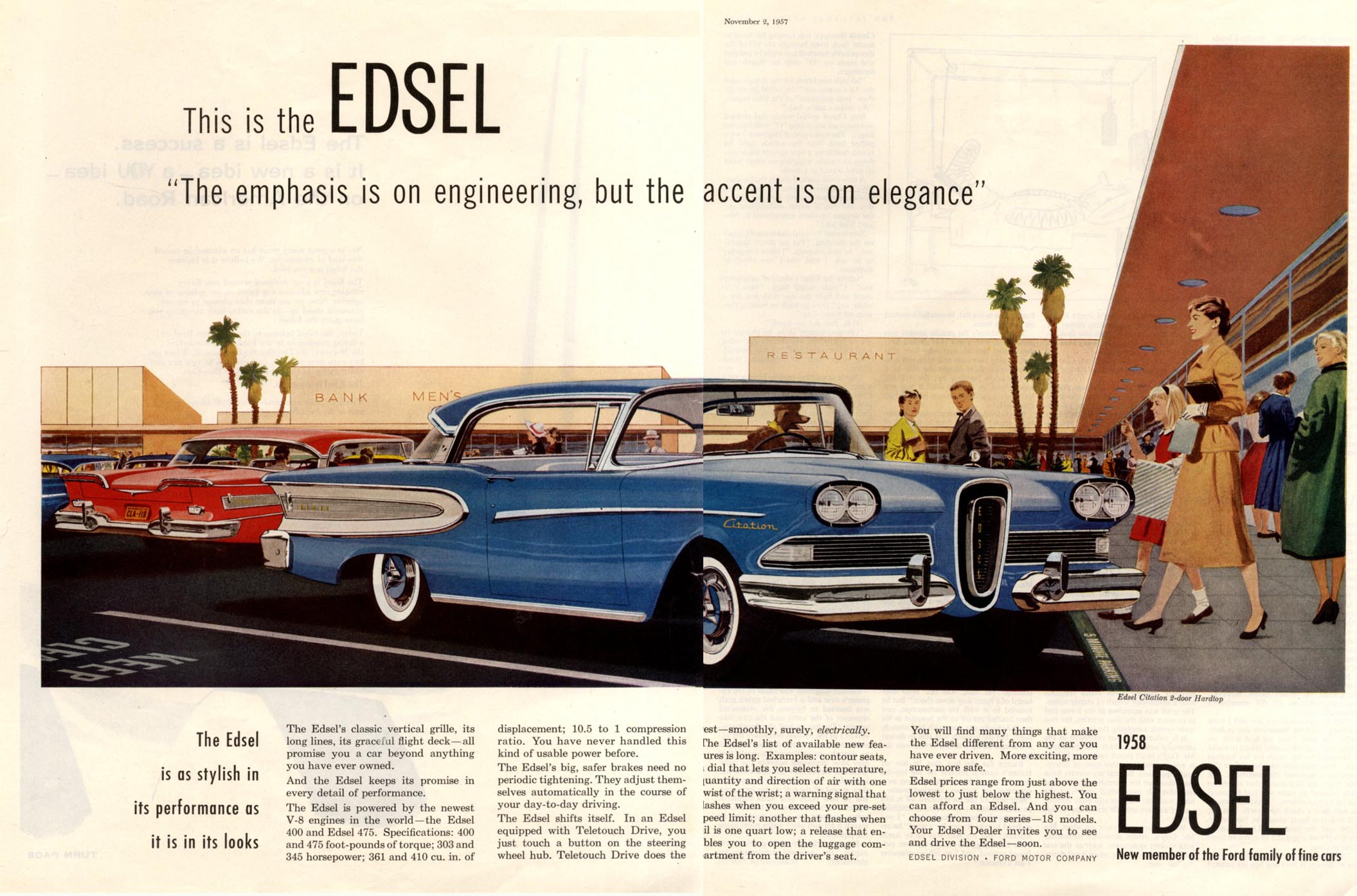 marketing analysis of ford's edsel and