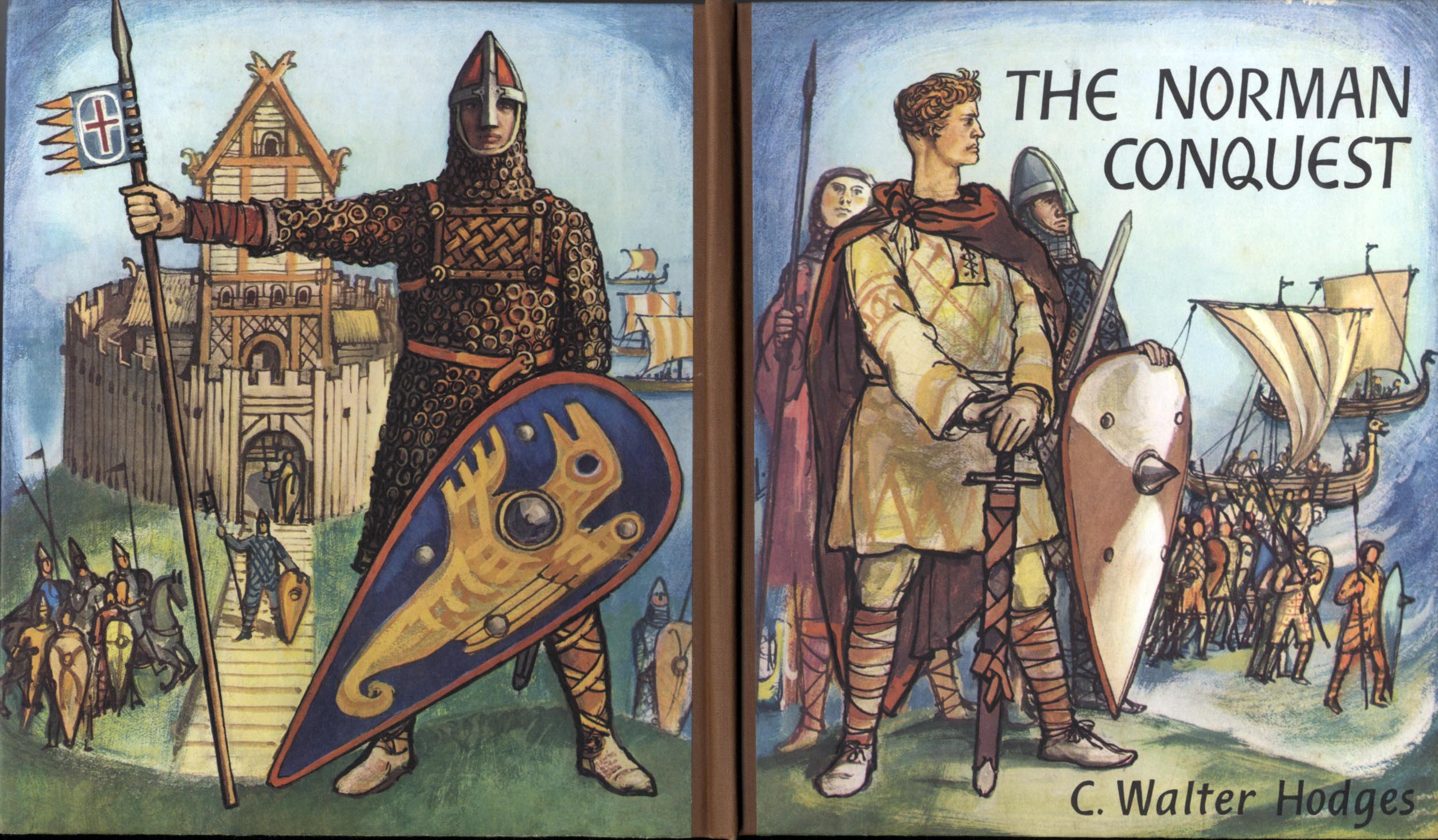 a history of the norman conquest at the battle of hastings Read another story from us: hastings and beyond: the norman conquest of england the battle was over and with it saxon rule of england duke william of normandy became king william of england, bringing in french language, customs, and laws.