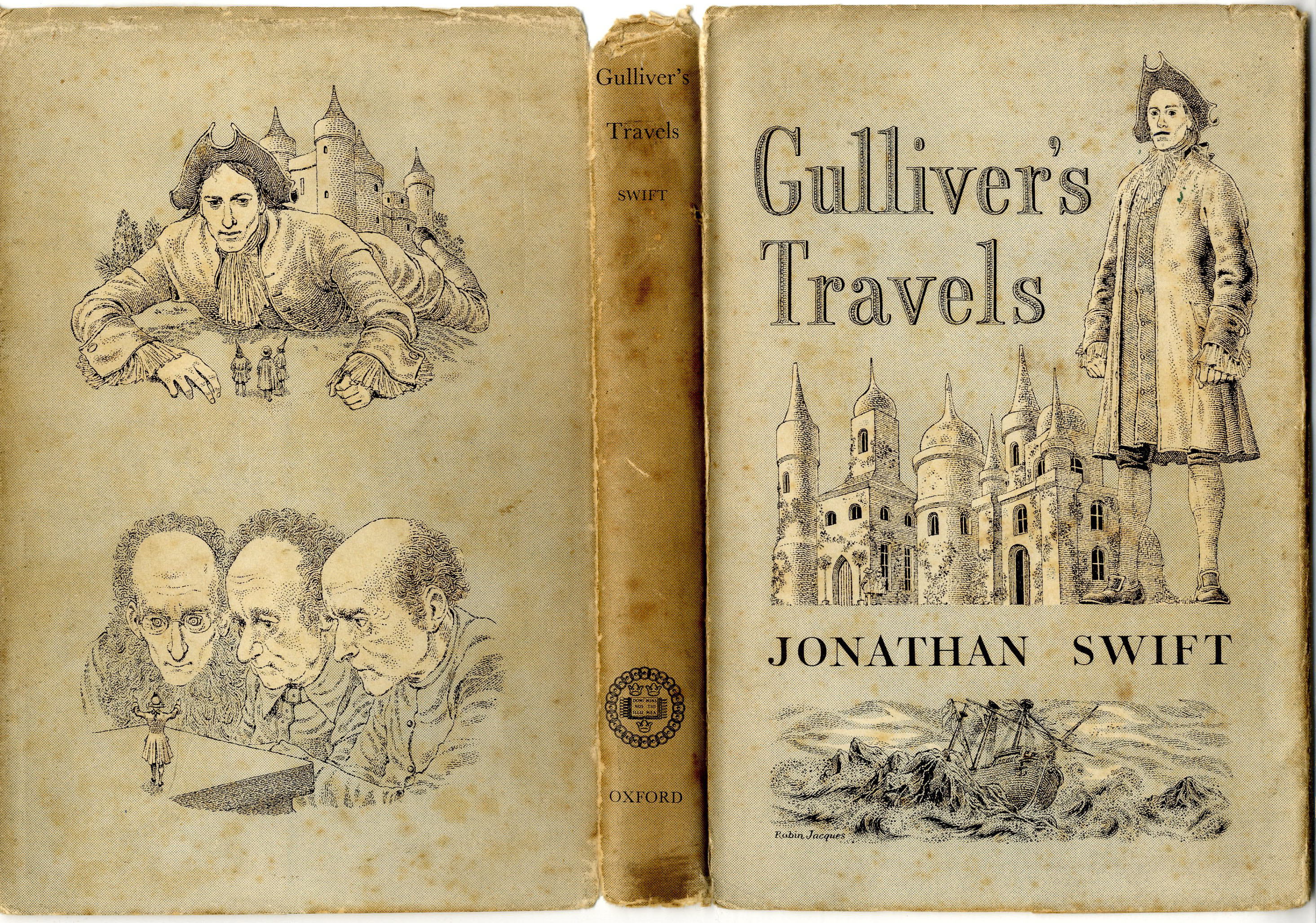 misanthropic viewpoints jonathan swift s gulliver s travels