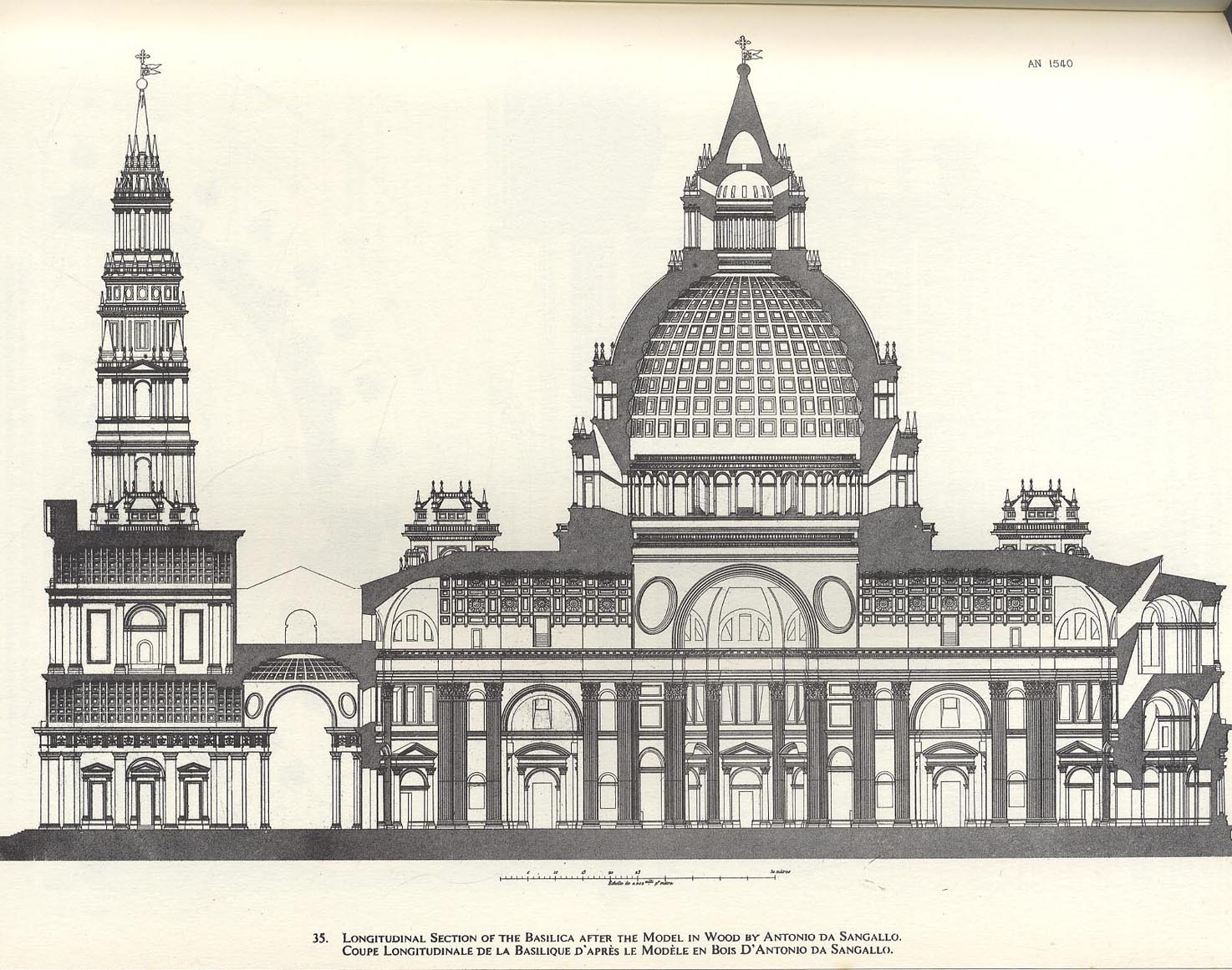 Paul Letarouilly The Vatican Plans Drawings And