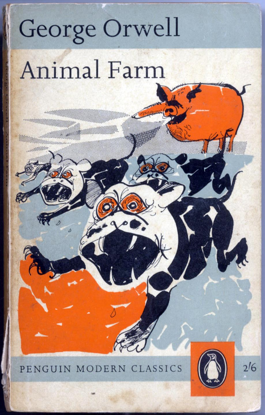 a book report on animal farm a novella by george orwell