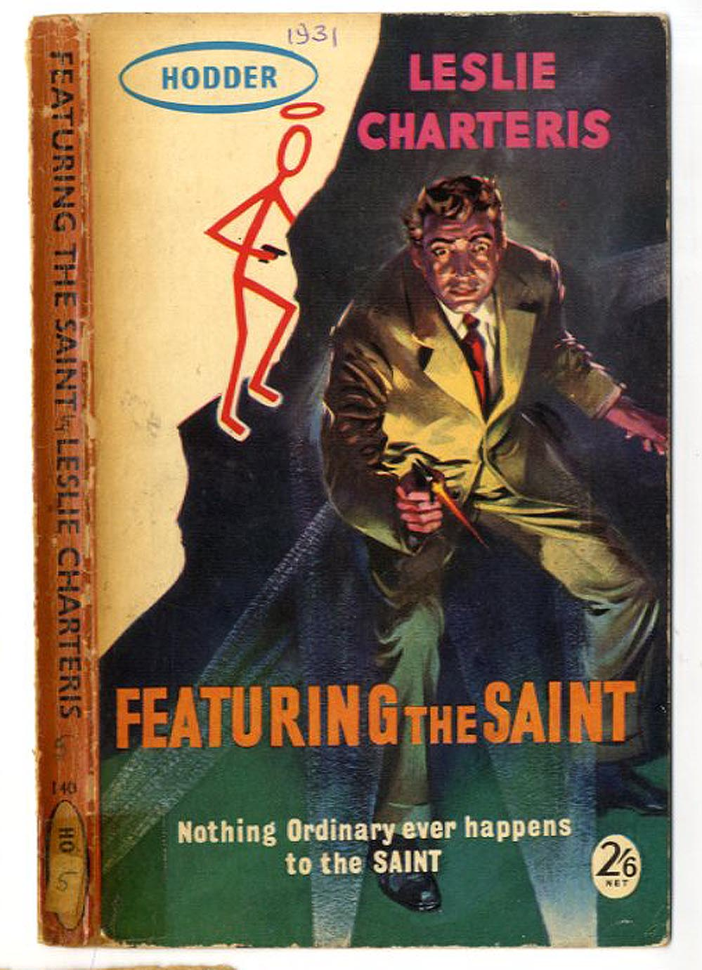 Classic Book Cover Generator ~ Book jackets and covers leslie charteris the saint