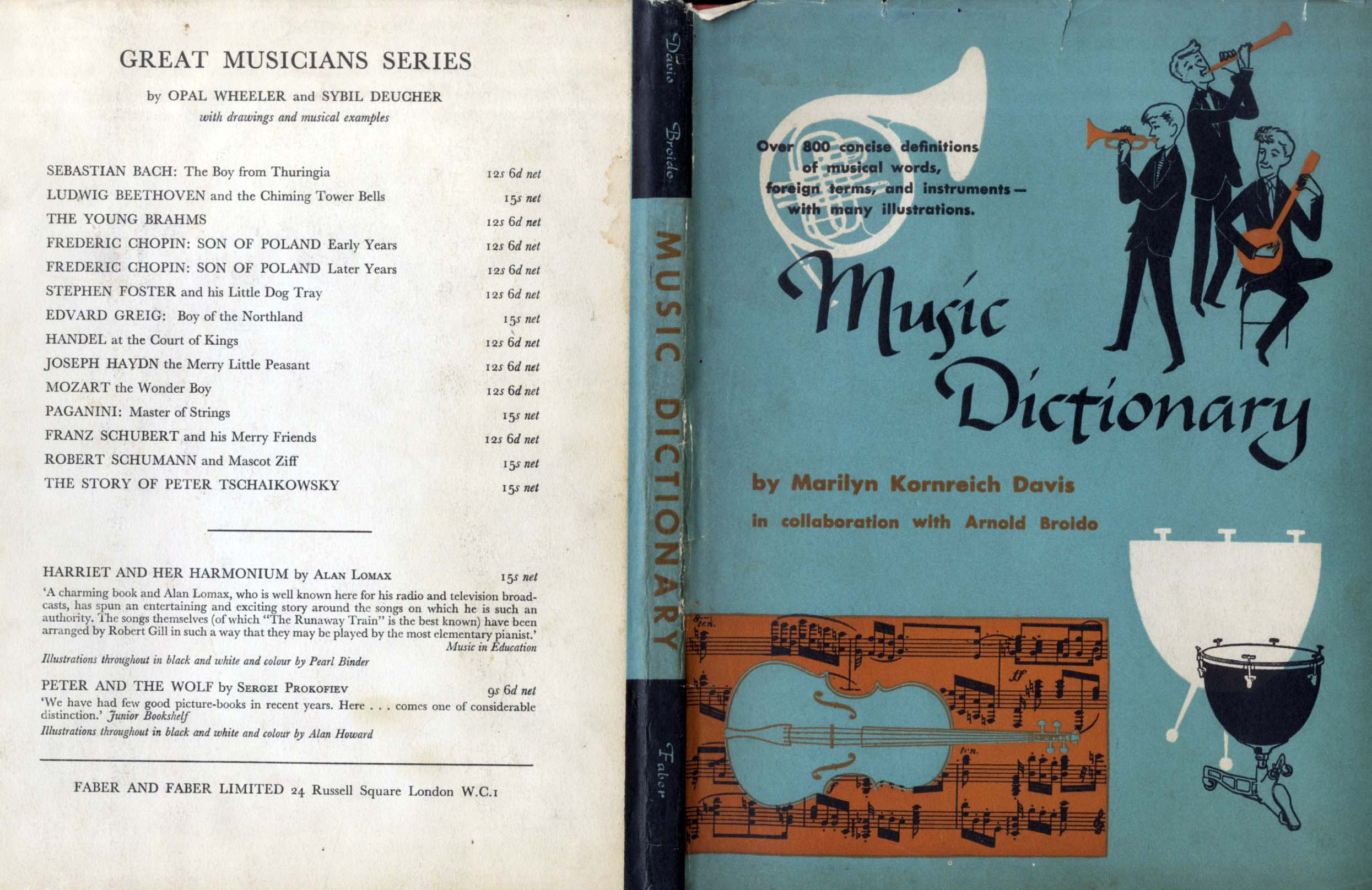 Musical Notation, Winifred Greene, The Music Dictionary