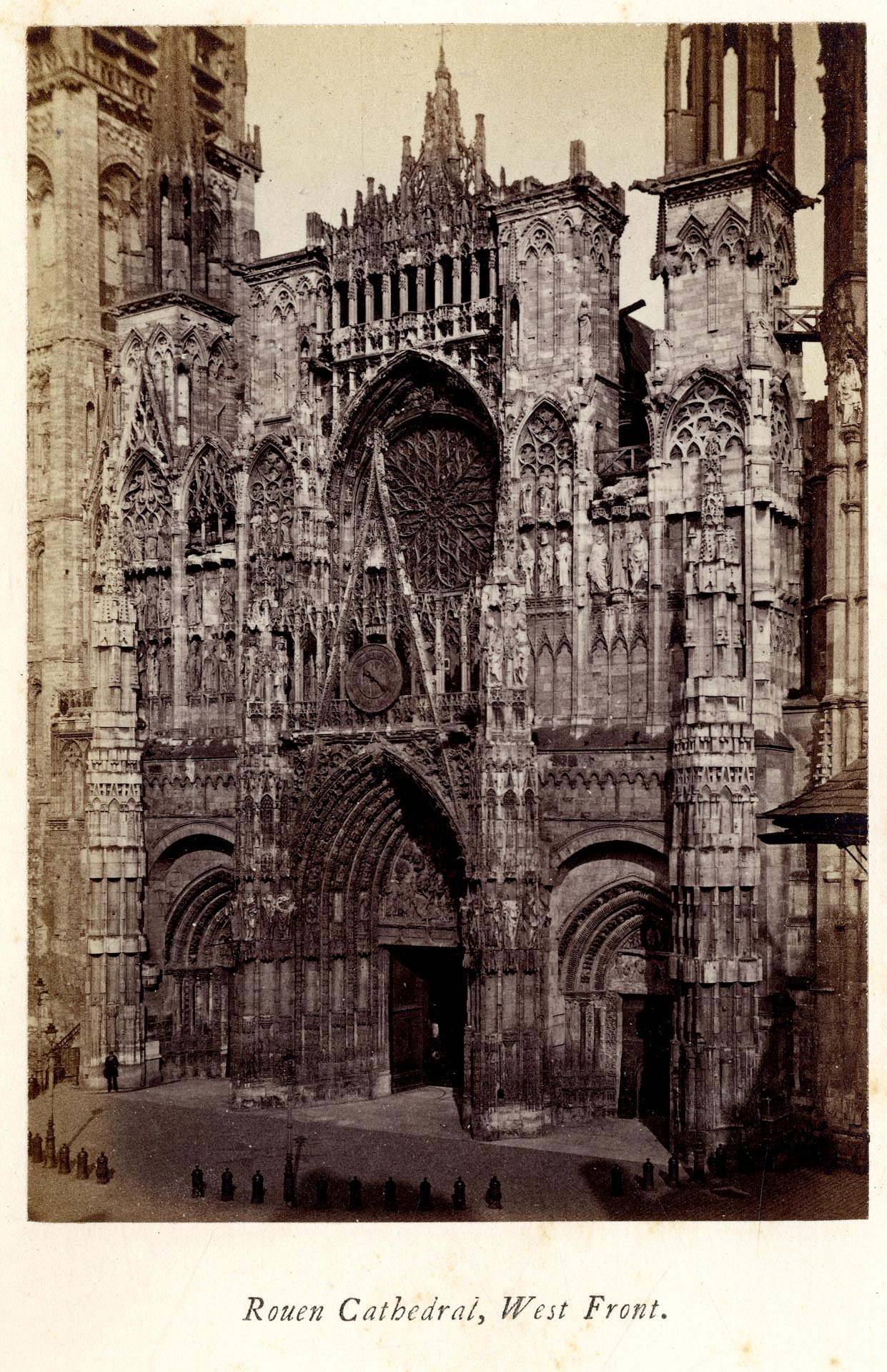 Early Photograpy F G Stephens Normandy Its Gothic
