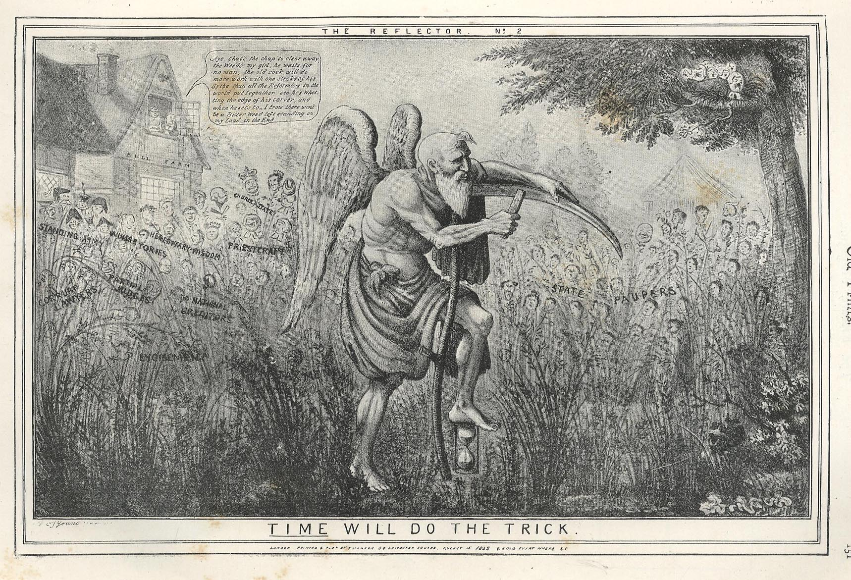 Time Depicted Father Time