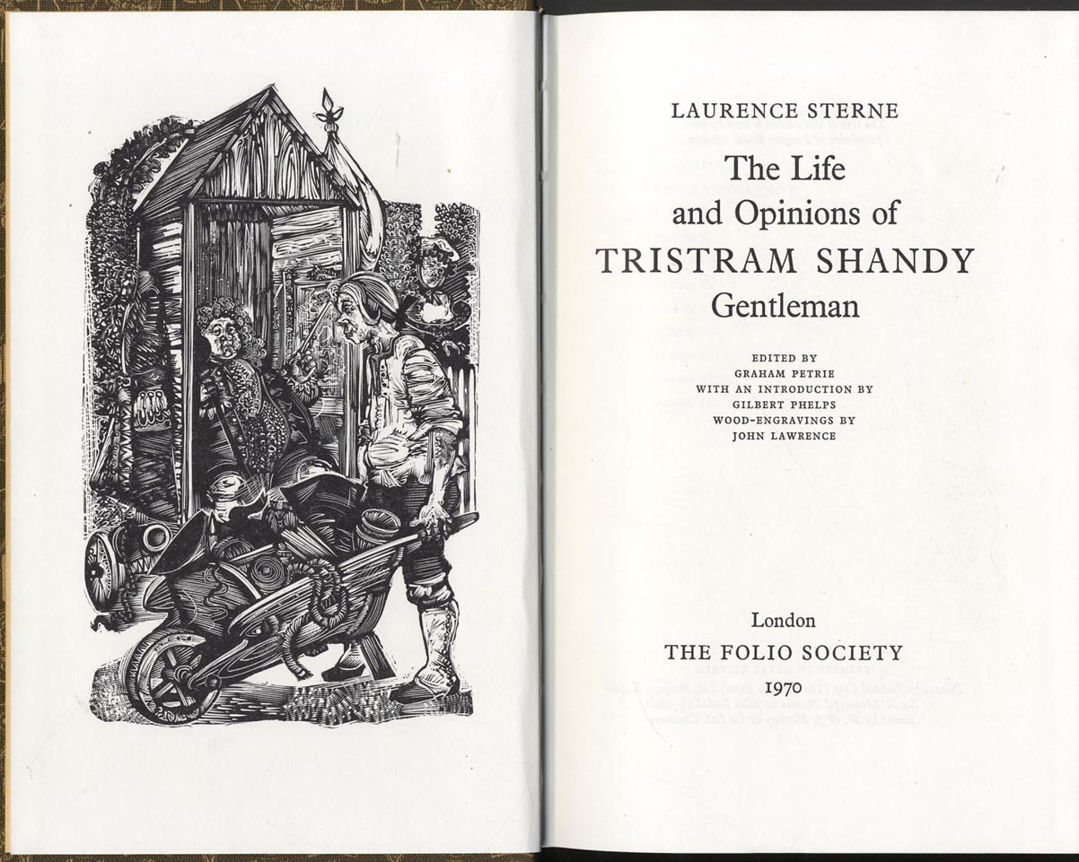 tristram shandy analysis essay The life and opinions of tristram shandy english literature essay the life and opinions of tristram shandy as well as detailed surface analysis of the.