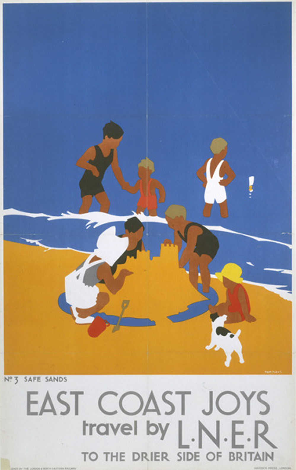 Tom Purvis, posters for LNER