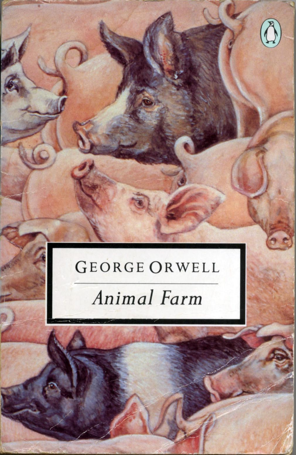 the character of napoleon in the novel animal farm by george orwell Animal farm by george orwell t his book is set in a future when animals are and blamed snowball who escaped the farm then napoleon made the animals work.