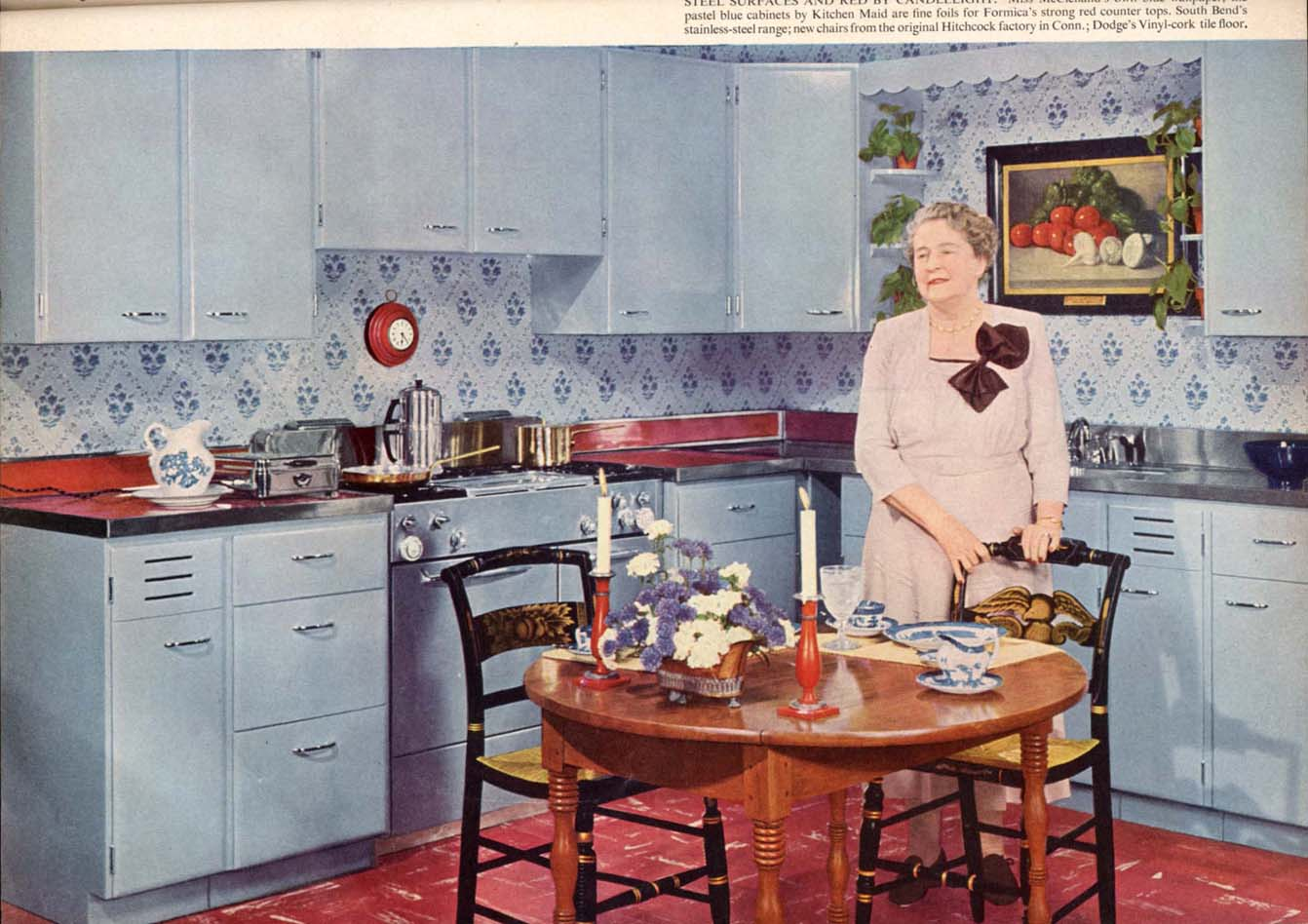 Flair ads and features 1950 1 for Home decor 1950s