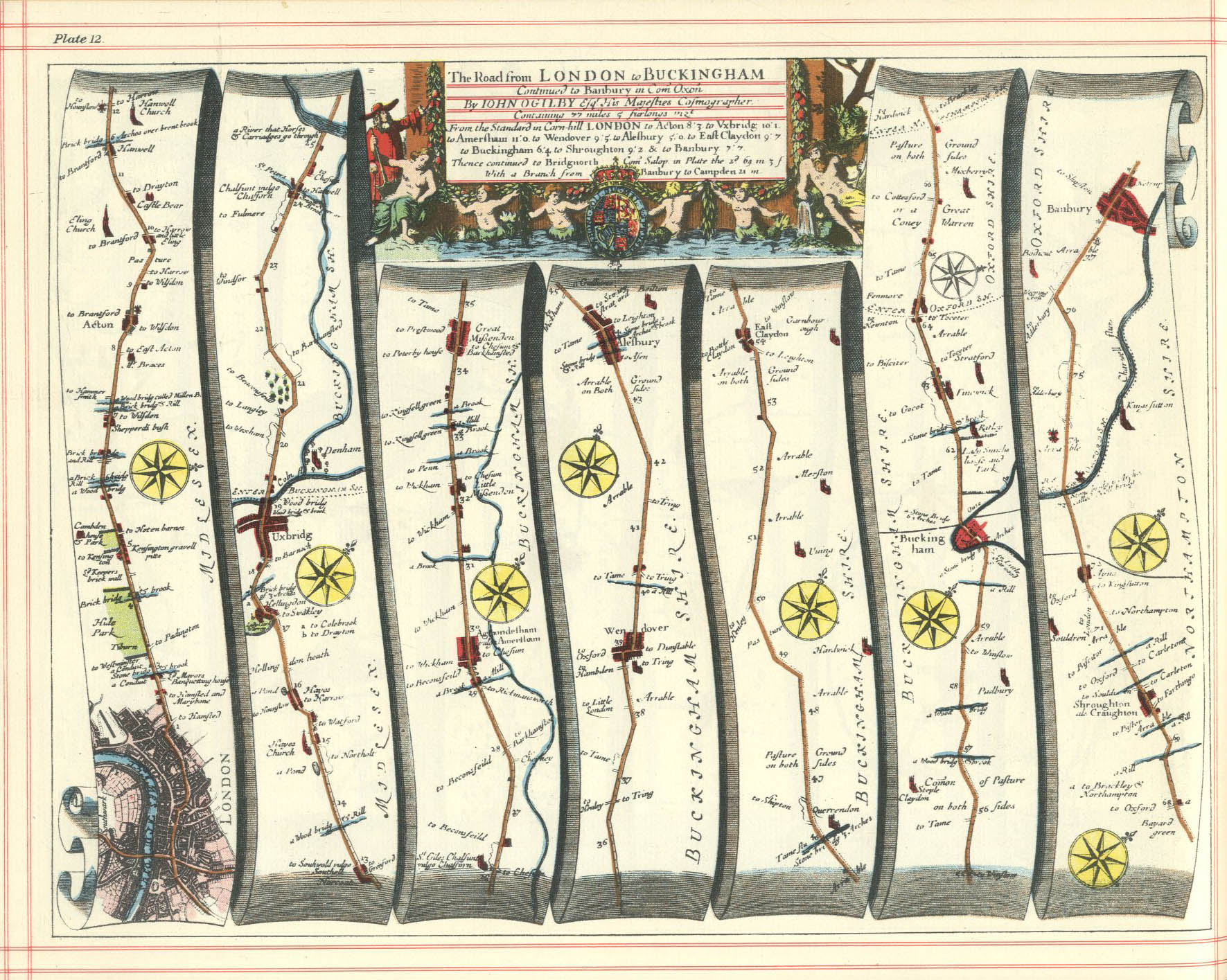 History of the Amersham Area  Maps