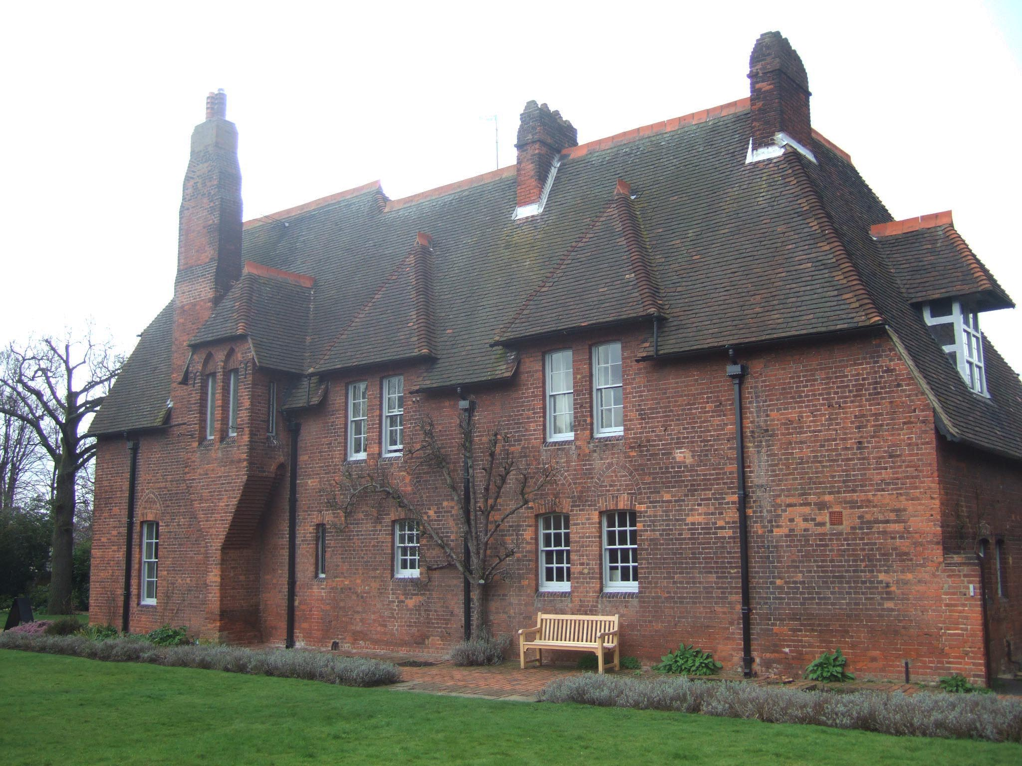 A on By Philip Webb Red House