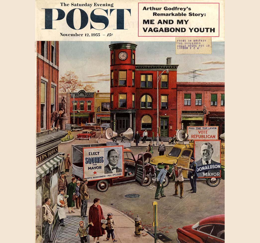 The Saturday Evening Post Magazine- November 21, 1908- Thanksgiving Issue