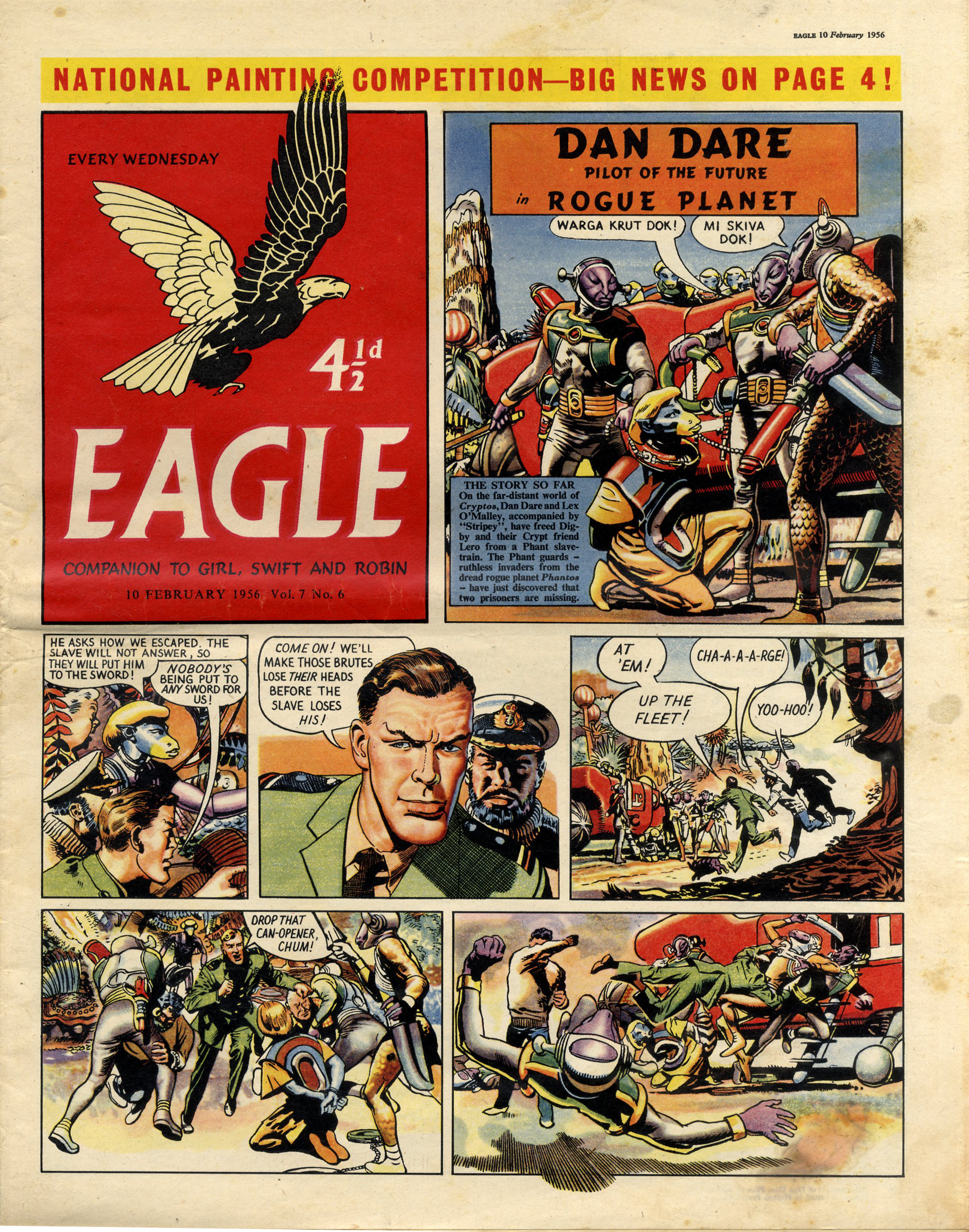 uk comics  dan dare examples