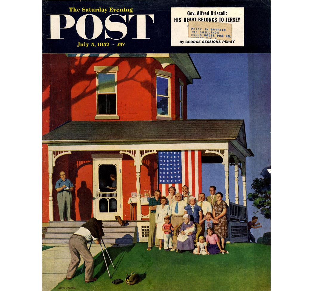 John Falter Magazine Covers
