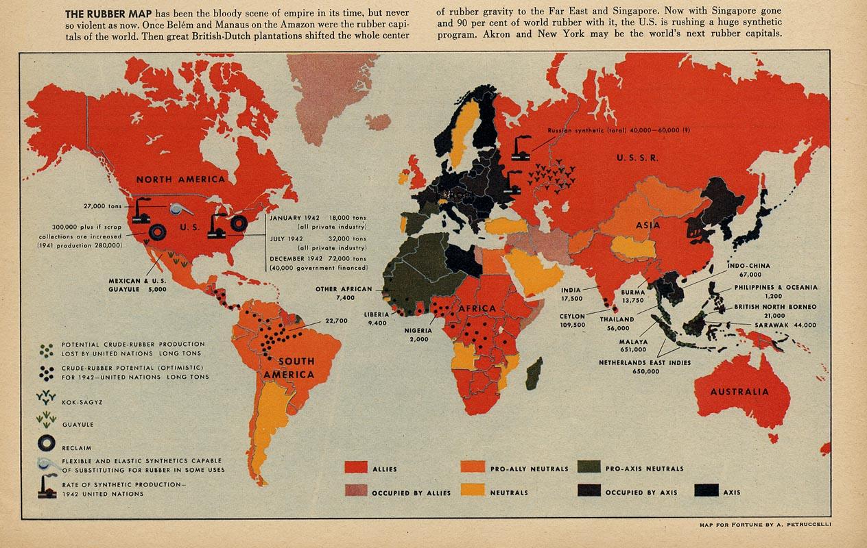 Fortune Magazine Maps Antonio Petruccelli