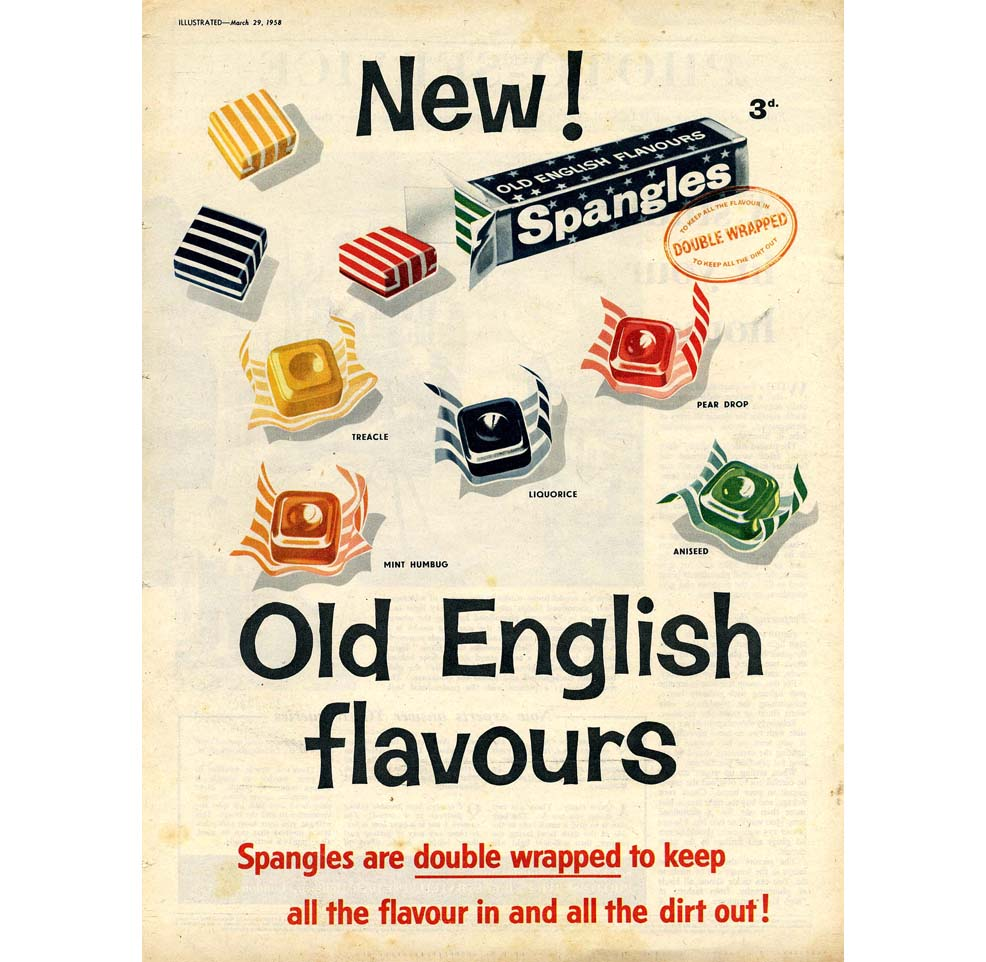 Sweets And Confectionery Spangles