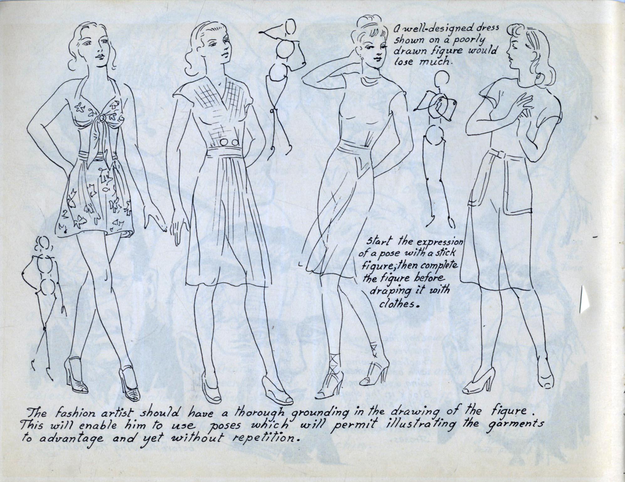 Artists\' Manuals, Victor Perard, Figure Drawing 1946