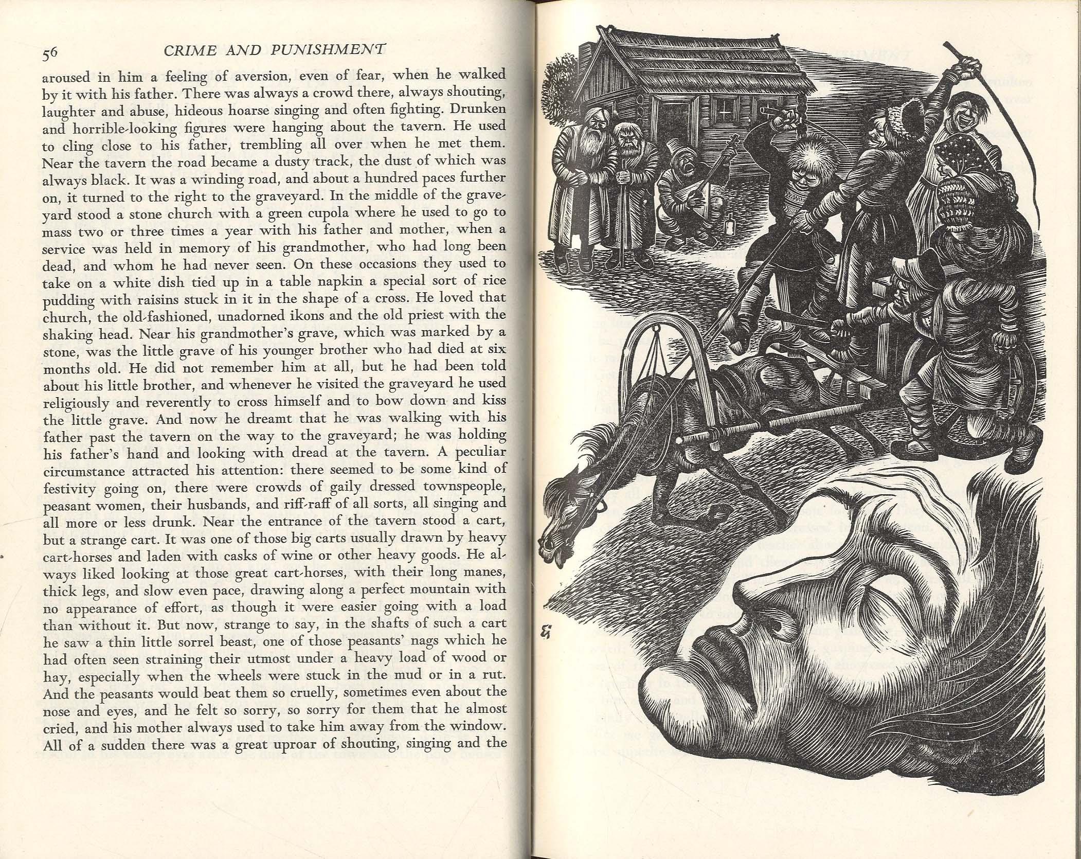 Why does Raskolnikov suffer