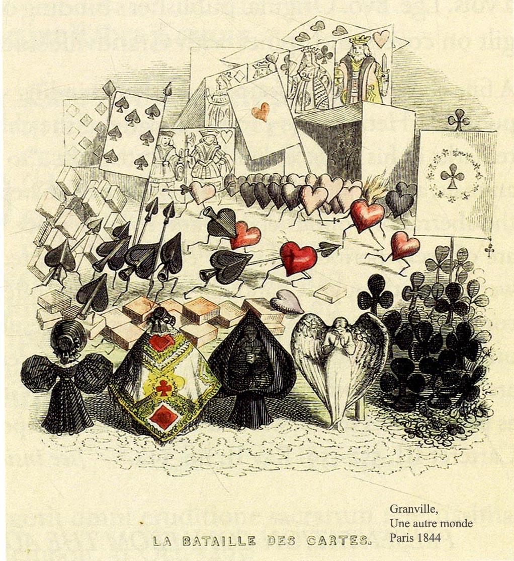 Narratives >> J.J.GRANDVILLE, Crusoe, La Fontaine etc