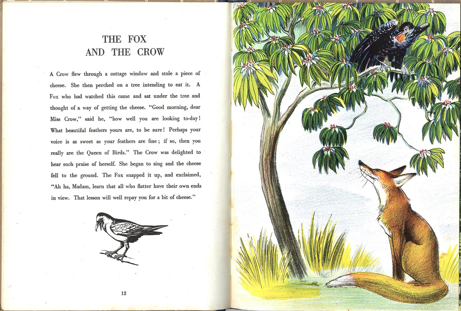 The Fox and the Crow (Aesop)