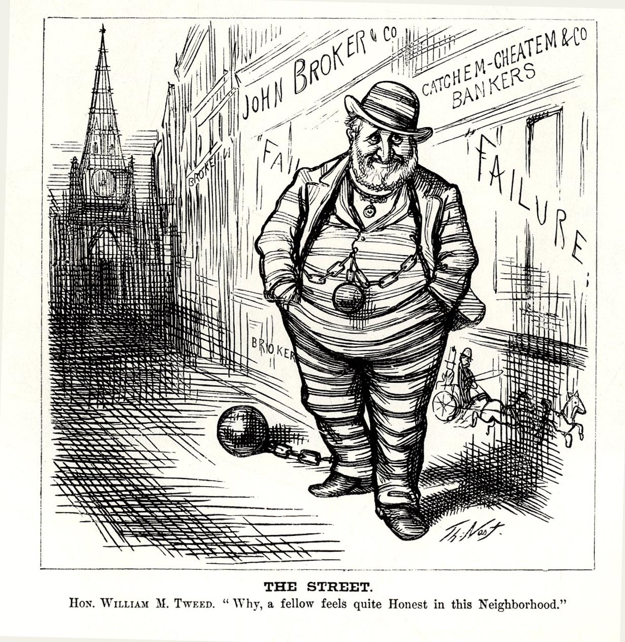 Image result for images of Thomas Nast's cartoons