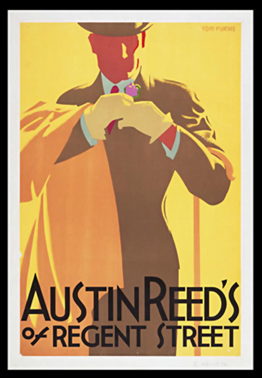 Tom Purvis Work For Austin Reed