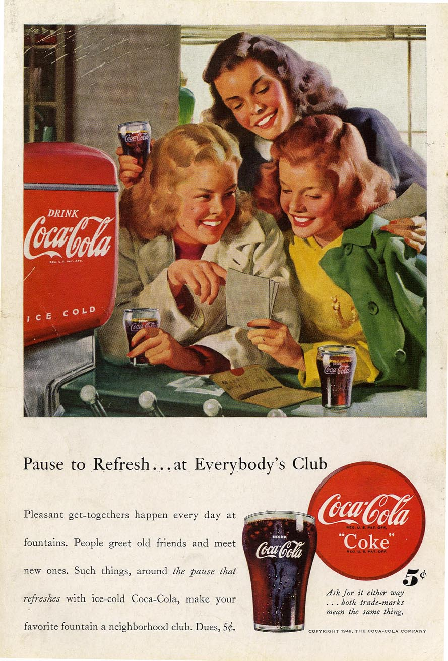 Coca Cola Advertising The American Way Of Life Mullen