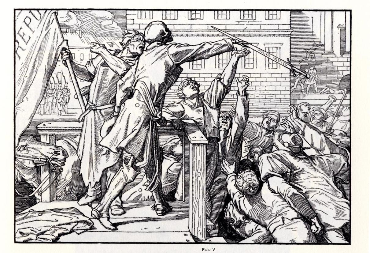 Dance of Death, Alfred Rethel Z Table