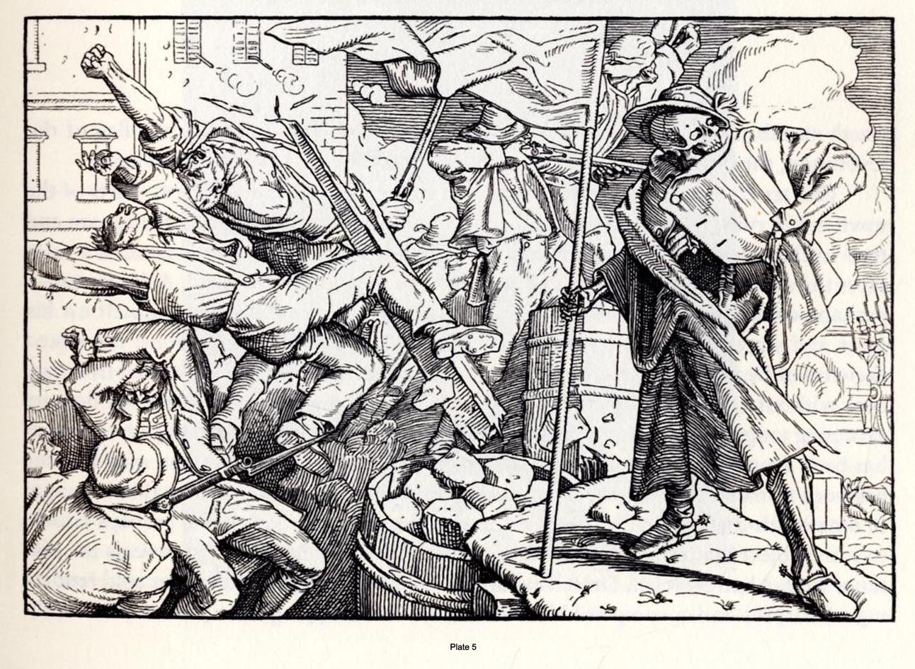 Dance of Death, Alfred Rethel