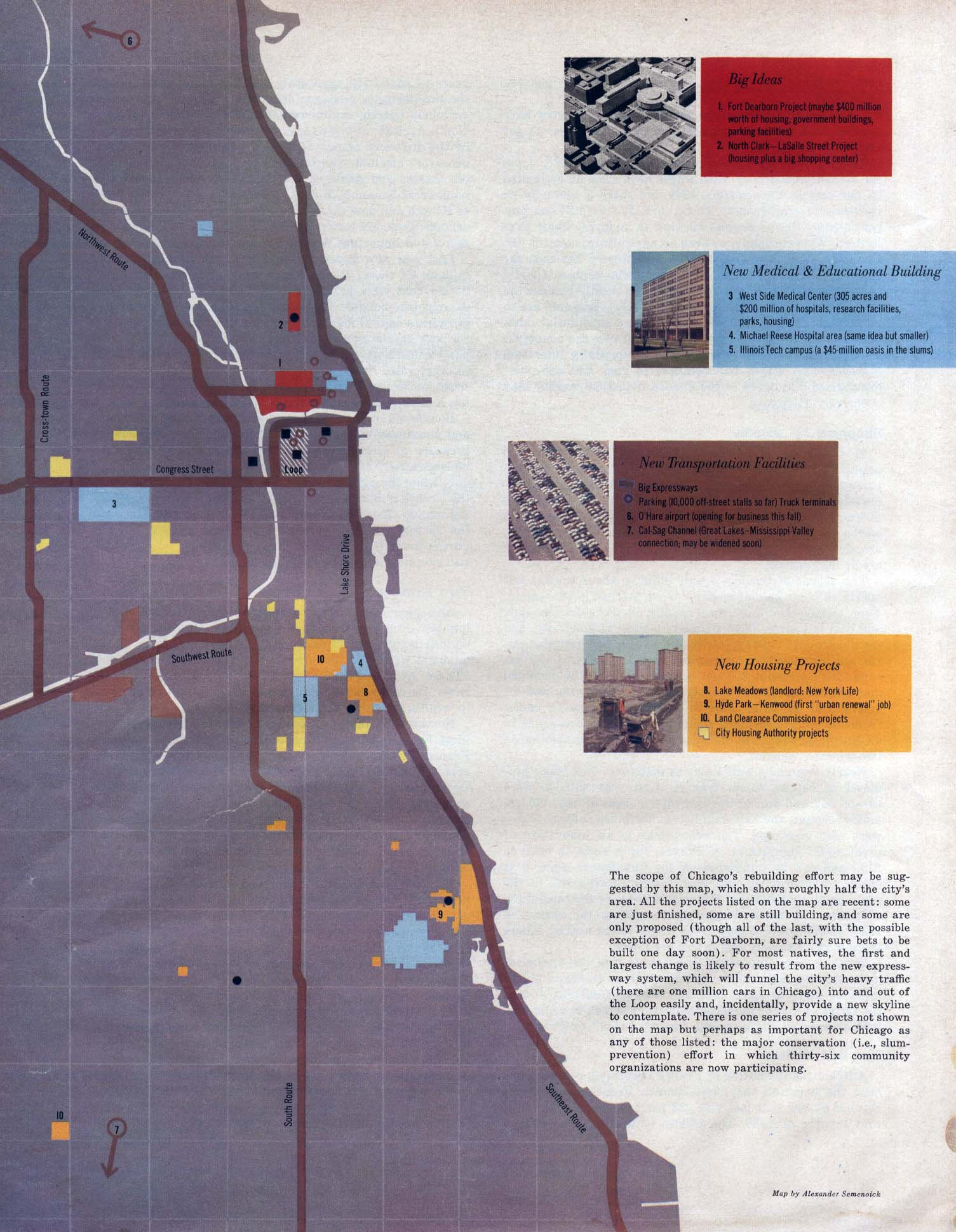 FORTUNE MAGAZINE Informational Images Maps - Nyc map oasis