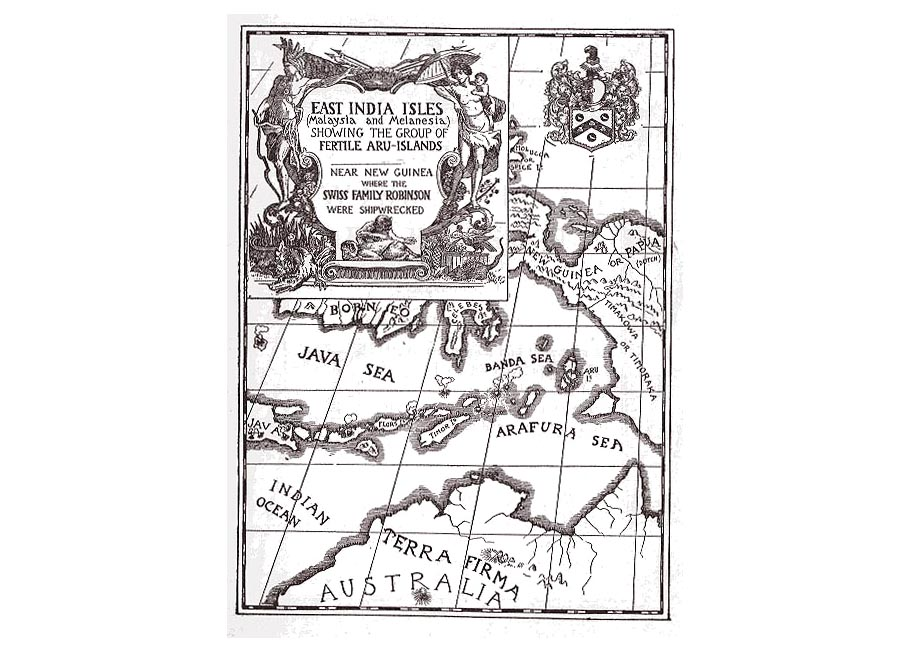 Literary Maps Buchan Defore Swift Hardy Ransom