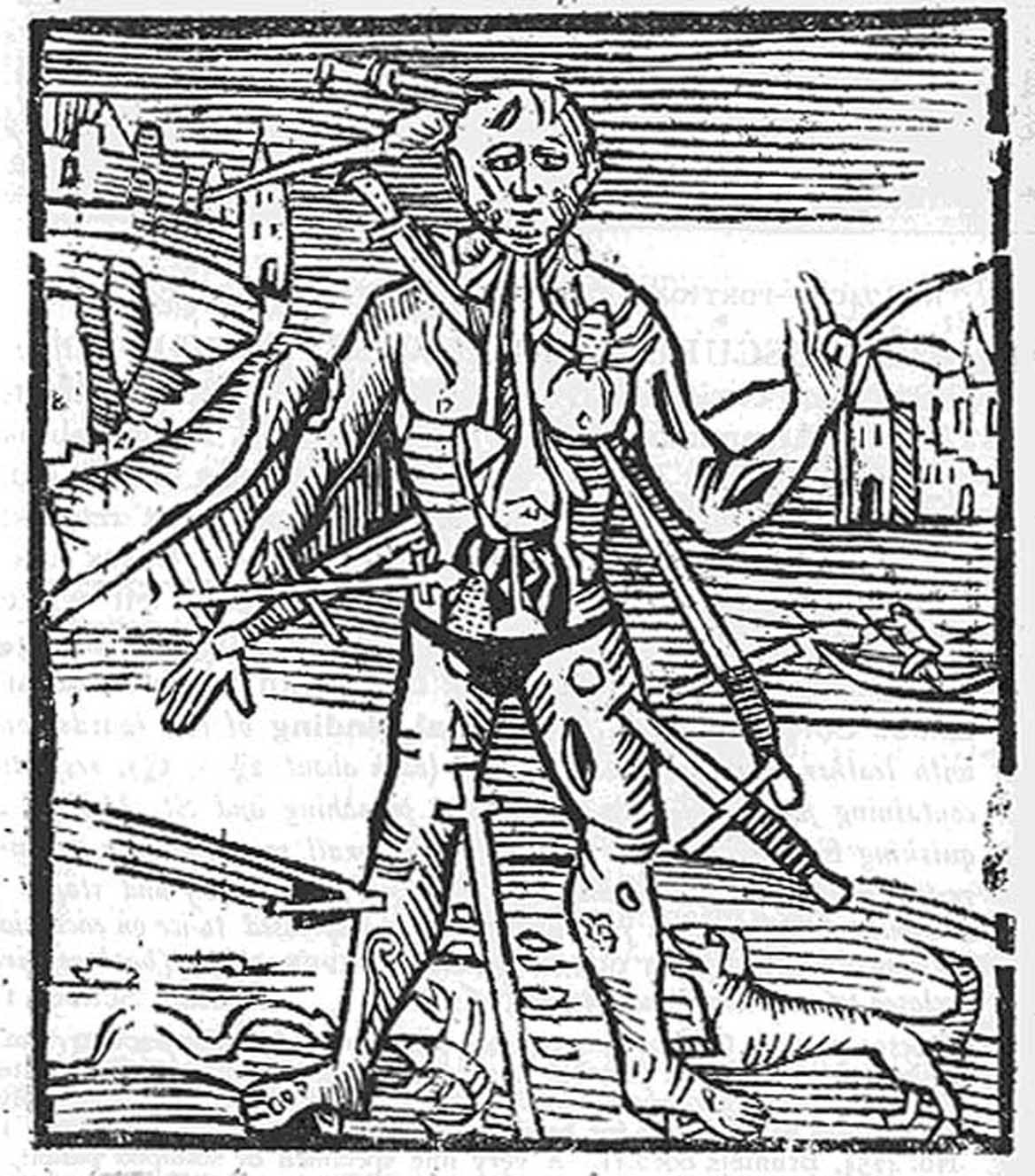 the melothesic zodiacal man narrative on the body  each part of the body was influenced by a zodiacal association often determining the times and nature of surgery