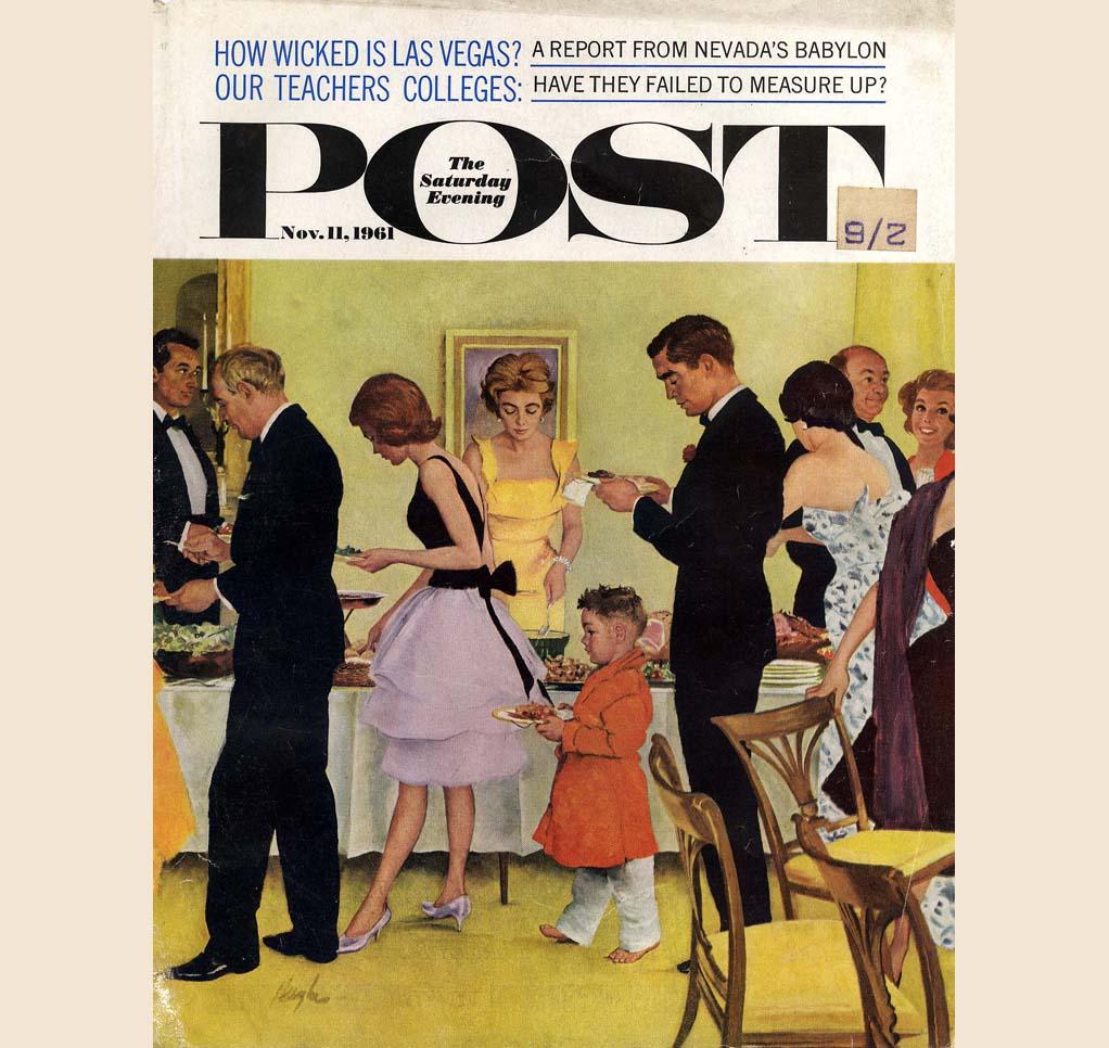 Saturday Evening Post Magazine October 17,1953 John Falter VINTAGE ADS Ben Hogan